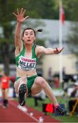 20 July 2019; Ruby Millet of Ireland competing in the Women's Long Jump qualifying rounds during Day Three of the European Athletics U20 Championships in Borås, Sweden. Photo by Giancarlo Colombo/Sportsfile