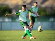20 July 2019; Andy Lyons during a Republic of Ireland training session ahead of their final group game of the 2019 UEFA European U19 Championships at the FFA Technical Centre in Yerevan, Armenia. Photo by Stephen McCarthy/Sportsfile