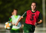 20 July 2019; Republic of Ireland opposition analyst Mark Scanlon during a Republic of Ireland training session ahead of their final group game of the 2019 UEFA European U19 Championships at the FFA Technical Centre in Yerevan, Armenia. Photo by Stephen McCarthy/Sportsfile