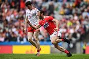 20 July 2019; James Loughrey of Cork celebrates after scoring his side's second goal during the GAA Football All-Ireland Senior Championship Quarter-Final Group 2 Phase 2 match between Cork and Tyrone at Croke Park in Dublin. Photo by David Fitzgerald/Sportsfile