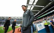 20 July 2019; Cian O'Sullivan of Dublin arrives prior to the GAA Football All-Ireland Senior Championship Quarter-Final Group 2 Phase 2 match between Dublin and Roscommon at Croke Park in Dublin. Photo by David Fitzgerald/Sportsfile