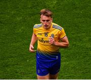 20 July 2019; Enda Smith of Roscommon leaves the field to receive treatment during the GAA Football All-Ireland Senior Championship Quarter-Final Group 2 Phase 2 match between Dublin and Roscommon at Croke Park in Dublin. Photo by Seb Daly/Sportsfile