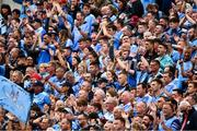 20 July 2019; Dublin supporters on Hill 16 before the GAA Football All-Ireland Senior Championship Quarter-Final Group 2 Phase 2 match between Dublin and Roscommon at Croke Park in Dublin. Photo by Ray McManus/Sportsfile