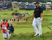 20 July 2019; Shane Lowry of Ireland walks down the 10th fairway after his second shot during Day Three of the 148th Open Championship at Royal Portrush in Portrush, Co Antrim. Photo by Brendan Moran/Sportsfile