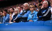 20 July 2019; Dublin fans watch on during the GAA Football All-Ireland Senior Championship Quarter-Final Group 2 Phase 2 match between Dublin and Roscommon at Croke Park in Dublin. Photo by David Fitzgerald/Sportsfile