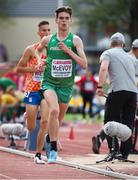 20 July 2019; Shay McEvoy of Ireland competing in the Men's 3000m Final during Day Three of the European Athletics U20 Championships in Borås, Sweden. Photo by Giancarlo Colombo/Sportsfile