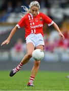 20 July 2019; Orla Finn of Cork during the TG4 All-Ireland Ladies Football Senior Championship Group 2 Round 2 match between Cork and Cavan at TEG Cusack Park in Mullingar, Co. Westmeath. Photo by Piaras Ó Mídheach/Sportsfile