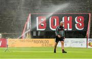 21 July 2019; Bohemians manager Keith Long ahead of the SSE Airtricity League Premier Division match between Bohemians and St Patrick's Athletic at Dalymount Park in Dublin. Photo by Michael P Ryan/Sportsfile