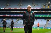 21 July 2019; Mayo manager James Horan prior to the GAA Football All-Ireland Senior Championship Quarter-Final Group 1 Phase 2 match between Mayo and Meath at Croke Park in Dublin. Photo by David Fitzgerald/Sportsfile