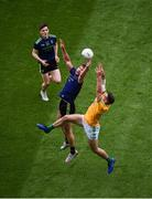 21 July 2019; Aidan O'Shea of Mayo in action against Ethan Devine of Meath during the GAA Football All-Ireland Senior Championship Quarter-Final Group 1 Phase 2 match between Mayo and Meath at Croke Park in Dublin. Photo by Daire Brennan/Sportsfile
