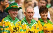 21 July 2019; Donegal fans prior to the GAA Football All-Ireland Senior Championship Quarter-Final Group 1 Phase 2 match between Kerry and Donegal at Croke Park in Dublin. Photo by David Fitzgerald/Sportsfile