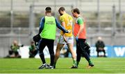 21 July 2019; Michael Newman of Meath is substituted due to injury during the GAA Football All-Ireland Senior Championship Quarter-Final Group 1 Phase 2 match between Mayo and Meath at Croke Park in Dublin. Photo by David Fitzgerald/Sportsfile