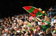 21 July 2019; A Mayo supporter during the GAA Football All-Ireland Senior Championship Quarter-Final Group 1 Phase 2 match between Mayo and Meath at Croke Park in Dublin. Photo by David Fitzgerald/Sportsfile