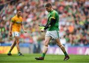 21 July 2019; Andrew Colgan of Meath leaves the field after receiving a black card during the GAA Football All-Ireland Senior Championship Quarter-Final Group 1 Phase 2 match between Mayo and Meath at Croke Park in Dublin. Photo by David Fitzgerald/Sportsfile