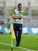 21 July 2019; Meath manager Andy McEntee during the GAA Football All-Ireland Senior Championship Quarter-Final Group 1 Phase 2 match between Mayo and Meath at Croke Park in Dublin. Photo by David Fitzgerald/Sportsfile
