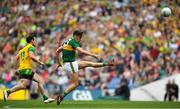 21 July 2019; David Clifford of Kerry kicks a point during the GAA Football All-Ireland Senior Championship Quarter-Final Group 1 Phase 2 match between Kerry and Donegal at Croke Park in Dublin. Photo by David Fitzgerald/Sportsfile