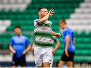 21 July 2019; Jack Byrne of Shamrock Rovers celebrates after scoring his side's fourth goal during the SSE Airtricity League Premier Division match between Shamrock Rovers and UCD at Tallaght Stadium in Dublin. Photo by Seb Daly/Sportsfile