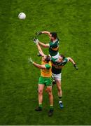 21 July 2019; Michael Murphy of Donegal in action against Jack Sherwood, left, and Mark Griffin of Kerry during the GAA Football All-Ireland Senior Championship Quarter-Final Group 1 Phase 2 match between Kerry and Donegal at Croke Park in Dublin. Photo by Daire Brennan/Sportsfile
