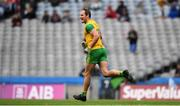 21 July 2019; Michael Murphy of Donegal celebrates after scoring his side's first goal during the GAA Football All-Ireland Senior Championship Quarter-Final Group 1 Phase 2 match between Kerry and Donegal at Croke Park in Dublin. Photo by David Fitzgerald/Sportsfile