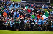 21 July 2019; Shane Lowry of Ireland makes his way to the 18th green during Day Four of the 148th Open Championship at Royal Portrush in Portrush, Co Antrim. Photo by Brendan Moran/Sportsfile