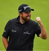 21 July 2019; Shane Lowry of Ireland celebrates after winning The Open Championship on Day Four of the 148th Open Championship at Royal Portrush in Portrush, Co Antrim. Photo by Brendan Moran/Sportsfile