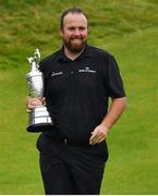 21 July 2019; Shane Lowry of Ireland with The Claret Jug after winning The Open Championship on Day Four of the 148th Open Championship at Royal Portrush in Portrush, Co Antrim. Photo by Brendan Moran/Sportsfile