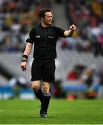 21 July 2019; Referee Paddy Neilan during the GAA Football All-Ireland Senior Championship Quarter-Final Group 1 Phase 2 match between Kerry and Donegal at Croke Park in Dublin. Photo by Ray McManus/Sportsfile