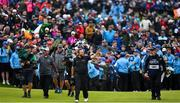 21 July 2019; Shane Lowry of Ireland celebrates as he walks onto the 18th green on their way to winning The Open Championship on Day Four of the 148th Open Championship at Royal Portrush in Portrush, Co Antrim. Photo by Brendan Moran/Sportsfile Photo by Brendan Moran/Sportsfile