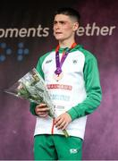 21 July 2019; Darragh McElhinney of Ireland Bronze medal after finishing third in the Men's 5000m final during Day Four of the European Athletics U20 Championships in Borås, Sweden. Photo by Giancarlo Colombo/Sportsfile