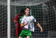 21 July 2019; Barry Coffey of Republic of Ireland celebrates after scoring his side's second goal during the 2019 UEFA U19 European Championship Finals group B match between Republic of Ireland and Czech Republic at the FFA Academy Stadium in Yerevan, Armenia. Photo by Stephen McCarthy/Sportsfile