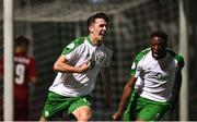 21 July 2019; Barry Coffey of Republic of Ireland celebrates after scoring his side's winning goal during the 2019 UEFA U19 European Championship Finals group B match between Republic of Ireland and Czech Republic at the FFA Academy Stadium in Yerevan, Armenia. Photo by Stephen McCarthy/Sportsfile