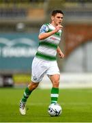 21 July 2019; Dylan Watts of Shamrock Rovers during the SSE Airtricity League Premier Division match between Shamrock Rovers and UCD at Tallaght Stadium in Dublin. Photo by Seb Daly/Sportsfile