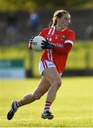 16 June 2019; Aishling Hutchings of Cork during the TG4 Ladies Football Munster Senior Football Championship Final match between Cork and Waterford at Fraher Field in Dungarvan, Co. Waterford. Photo by Harry Murphy/Sportsfile