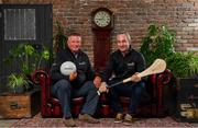22 July 2019; Showing support at the launch of the EirGrid Official Timing Sponsorship are former Dublin football manager Paul Caffrey, left, and former Tipperary hurling manager Michael Ryan. Eirgrid, now in its fourth year as the official timing partner to the GAA, works closely with communities around Ireland every day and the organisation wants to ensure that these communities have a chance to benefit because of their partnership with the GAA. Photo by Sam Barnes/Sportsfile