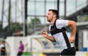 23 July 2019; Patrick Hoban during a Dundalk training session at Oriel Park in Dundalk, Co Louth. Photo by Ben McShane/Sportsfile