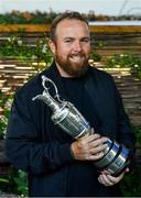 23 July 2019; The 2019 Open Champion Shane Lowry with the Claret Jug during a press conference at House Dublin in Dublin. Photo by Sam Barnes/Sportsfile