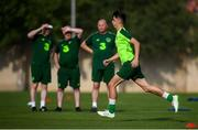 23 July 2019; Barry Coffey during a Republic of Ireland training session at the FFA Technical Centre ahead of their semi-final game of the 2019 UEFA European U19 Championships in Yerevan, Armenia. Photo by Stephen McCarthy/Sportsfile