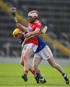 23 July 2019; Conor Callaghan of Cork in action against Andrew Ormond of Tipperary during the Bord Gais Energy Munster GAA Hurling Under 20 Championship Final match between Tipperary and Cork at Semple Stadium in Thurles, Co Tipperary. Photo by Sam Barnes/Sportsfile