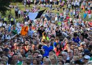 23 July 2019; A general view of the crowd at the homecoming for the 2019 Open Champion Shane Lowry in Clara in Offaly. Photo by Seb Daly/Sportsfile