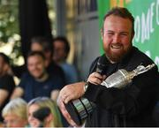 23 July 2019; The 2019 Open Champion Shane Lowry with the Claret Jug at his homecoming event in Clara in Offaly. Photo by Seb Daly/Sportsfile