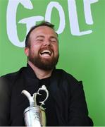 23 July 2019; The 2019 Open Champion Shane Lowry with the Claret Jug at his homecoming event in Clara in Offaly. Photo by Piaras Ó Mídheach/Sportsfile