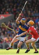 23 July 2019; Conor Bowe of Tipperary in action against James Keating of Cork during the Bord Gais Energy Munster GAA Hurling Under 20 Championship Final match between Tipperary and Cork at Semple Stadium in Thurles, Co Tipperary. Photo by Sam Barnes/Sportsfile