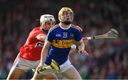 23 July 2019; Andrew Ormond of Tipperary is fouled by Sean O'Leary Hayes of Cork during the Bord Gais Energy Munster GAA Hurling Under 20 Championship Final match between Tipperary and Cork at Semple Stadium in Thurles, Co Tipperary. Photo by Sam Barnes/Sportsfile
