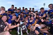 23 July 2019; Tipperary players and supporters celebrate with the cup following the Bord Gais Energy Munster GAA Hurling Under 20 Championship Final match between Tipperary and Cork at Semple Stadium in Thurles, Co Tipperary. Photo by Sam Barnes/Sportsfile