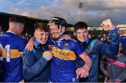 23 July 2019; Jerome Cahill of Tipperary celebrates with team-mates following the Bord Gais Energy Munster GAA Hurling Under 20 Championship Final match between Tipperary and Cork at Semple Stadium in Thurles, Co Tipperary. Photo by Sam Barnes/Sportsfile