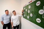 24 July 2019; Jamie Carragher and Brian O'Driscoll launch 'Sports Extra' on Sky. The new sports pack which includes BT Sport and Premier Sports will be available to new & existing Sky Sports customers from August 1 for just €10 extra a month. Sports fans will be able to watch an unbeatable range of sports, including every single live Premier League game, all in one place. Photo by David Fitzgerald/Sportsfile