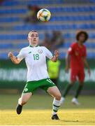 24 July 2019; Joe Hodge of Republic of Ireland during the 2019 UEFA U19 Championships semi-final match between Portugal and Republic of Ireland at Banants Stadium in Yerevan, Armenia. Photo by Stephen McCarthy/Sportsfile