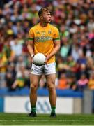 21 July 2019; Shane Walsh of Meath prepares to take a free during the GAA Football All-Ireland Senior Championship Quarter-Final Group 1 Phase 2 match between Mayo and Meath at Croke Park in Dublin. Photo by Ray McManus/Sportsfile