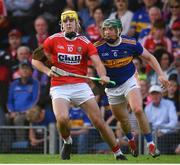 23 July 2019; Sean Twomey of Cork in action against Paddy Cadell of Tipperary during the Bord Gais Energy Munster GAA Hurling Under 20 Championship Final match between Tipperary and Cork at Semple Stadium in Thurles, Co Tipperary. Photo by Sam Barnes/Sportsfile