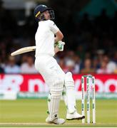 26 July 2019; Andrew Balbirnie of Ireland batting during day three of the Specsavers Test Match between Ireland and England at Lords Cricket Ground in London, England. Photo by Matt Impey/Sportsfile